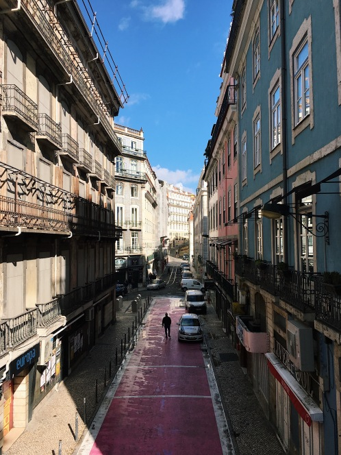 Une jolie ruelle colorée