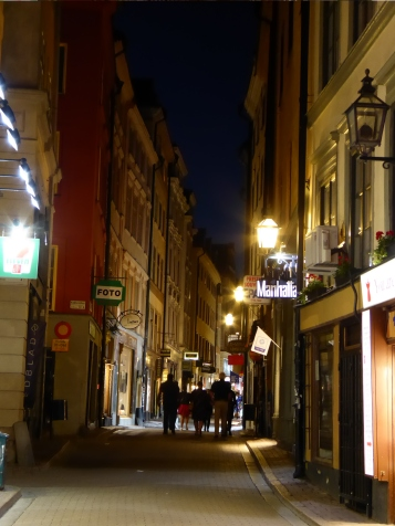 Streets in Stockholm